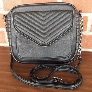 Call it spring quilted faux leather crossbody bag